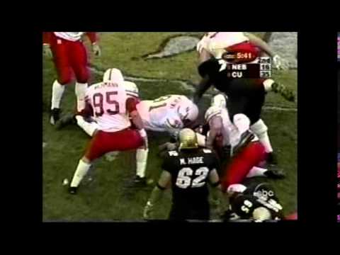 2001 #1 Nebraska at #15 Colorado