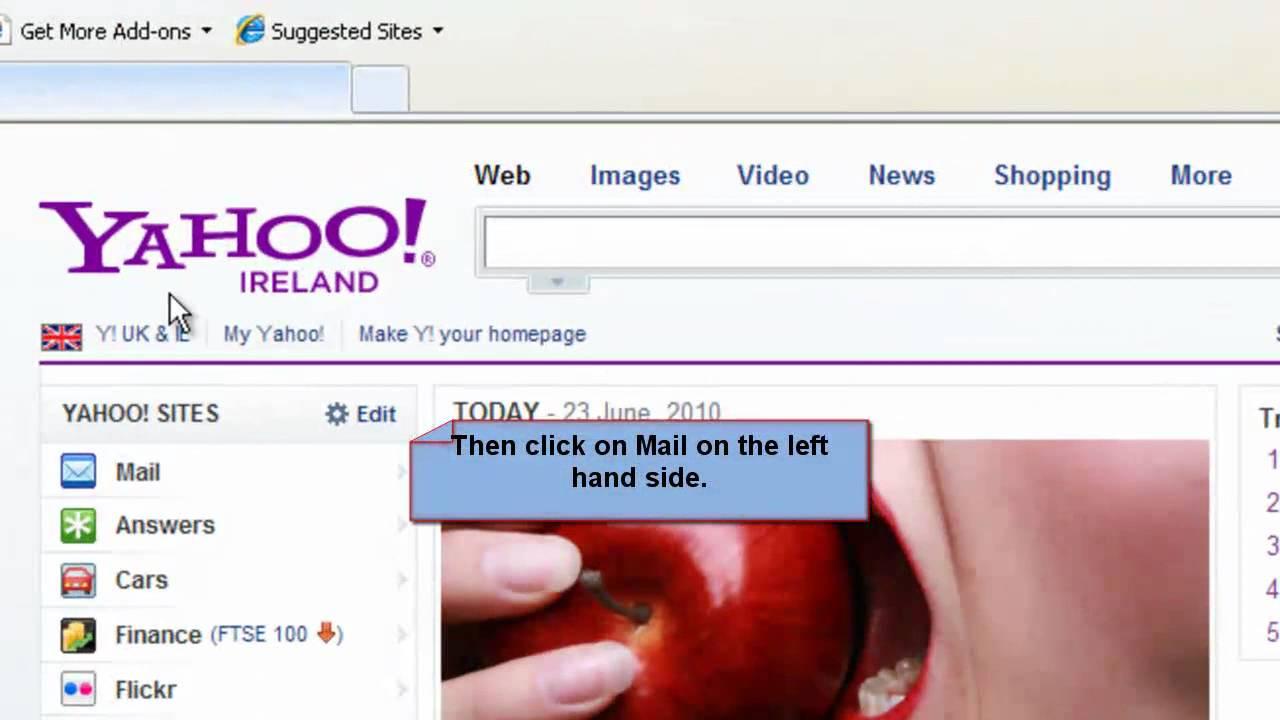 Yahoo Mail Sign In Yahoo Mail Box | www.pixshark.com ...