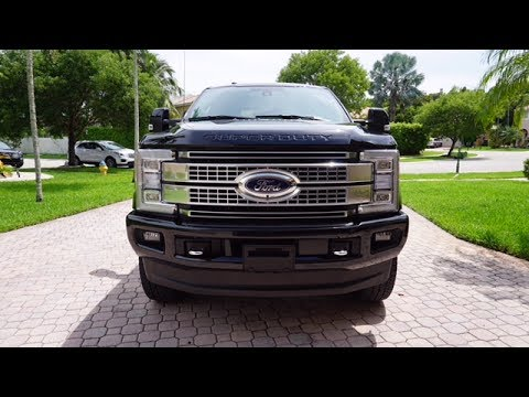 3 month REVIEW of my 2017 F250 Platinum Best truck on the market???
