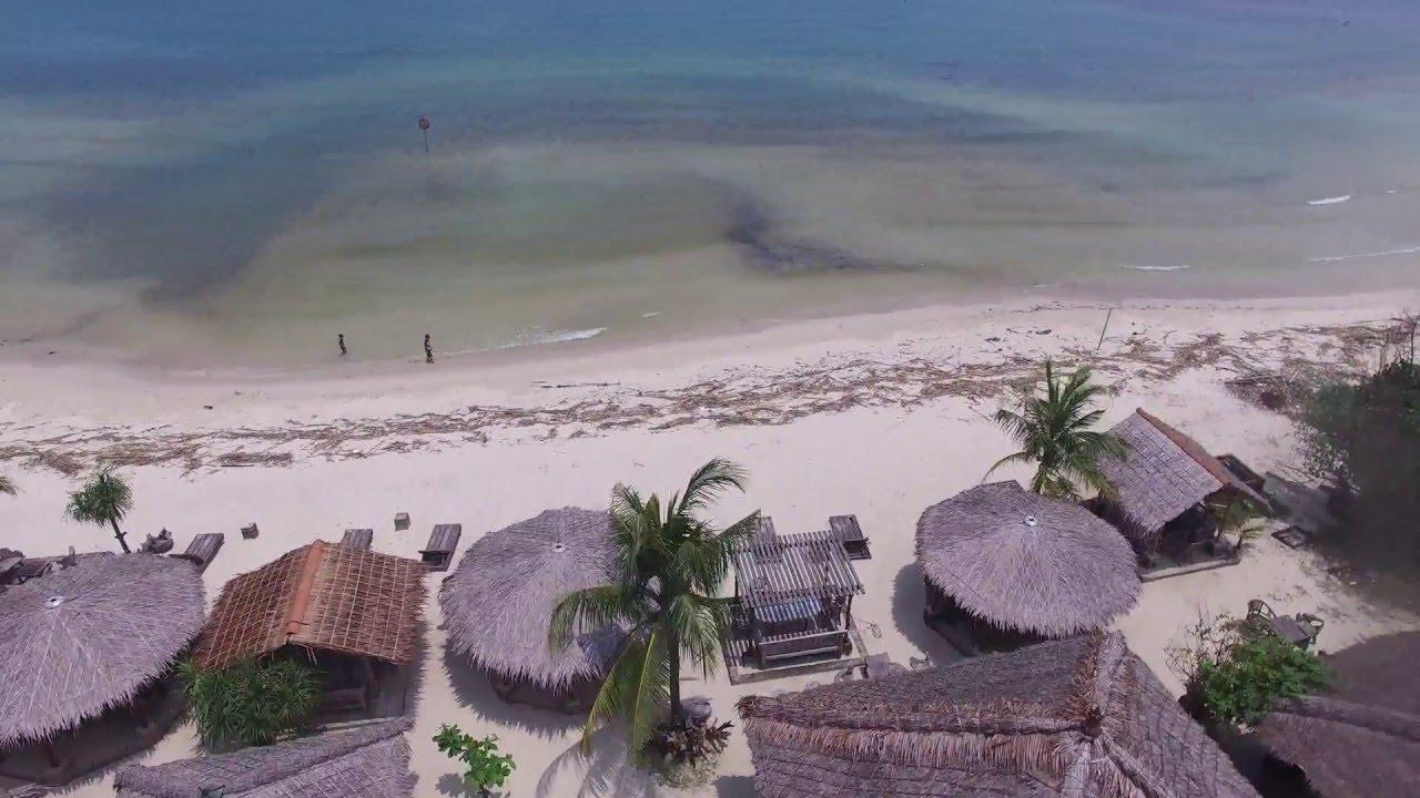 Sunset Beach Hotel Di Pantai Wisata Bandengan Jepara Youtube