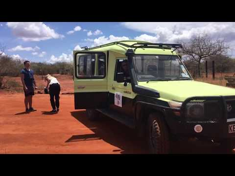 Fahrt von Mombasa zum Nationalpark Tsavo West