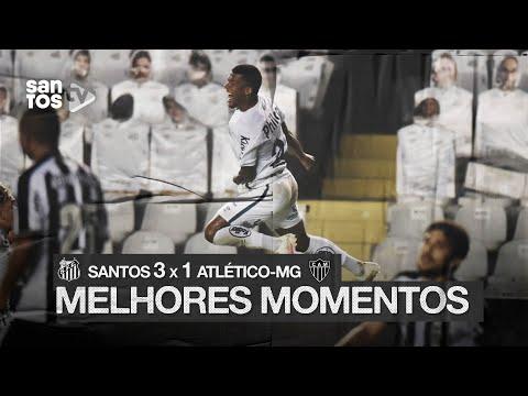 SANTOS 3 X 1 ATLÉTICO-MG | MELHORES MOMENTOS | BRASILEIRÃO (09/09/20)