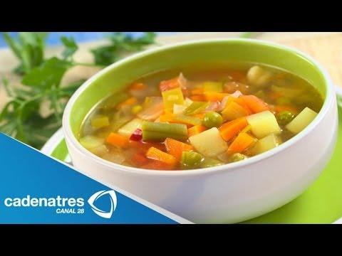 Receta Para Preparar Caldo De Vegetales Receta De Caldo