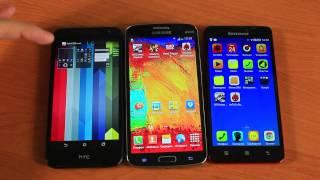 HTC Desire 616 vs Lenovo S850  vs Samsung Grand 2 Сравнение(HTC Desire 616 vs Lenovo S850 vs Samsung Grand 2 Сравнение Цены на Aliexpress: Asus Zenfone 5: http://goo.gl/Yy69p4 Lenovo S850: ..., 2014-10-03T06:41:52.000Z)