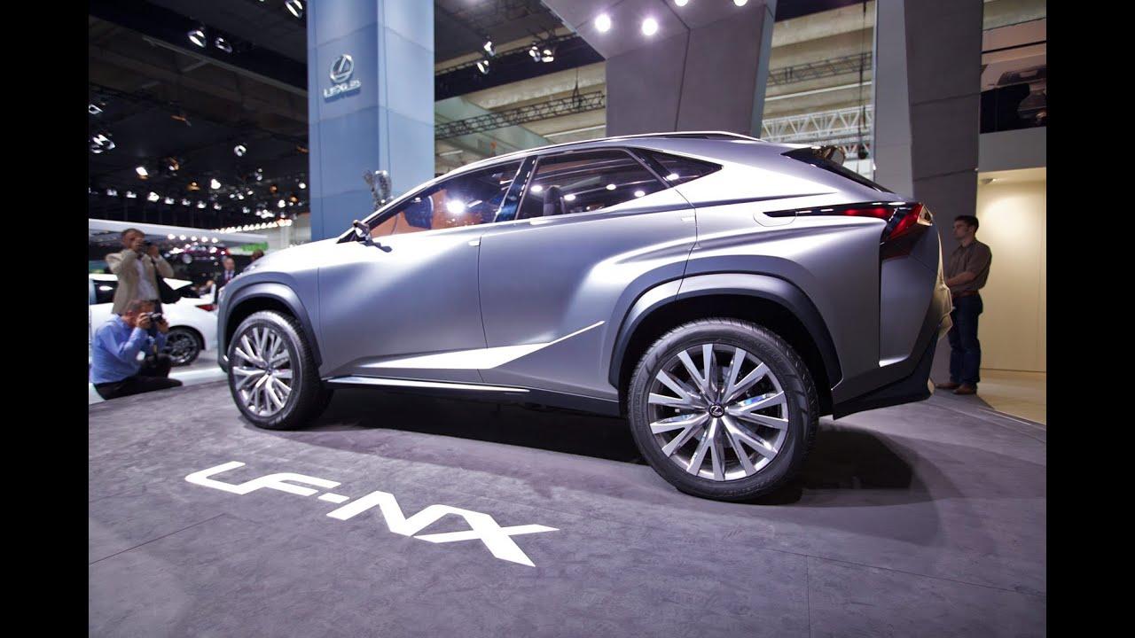 Lexus LF-NX Concept Unveiled   2013 Frankfurt Auto Show - YouTube