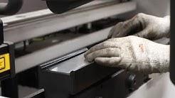 3D printed plastic press tool test