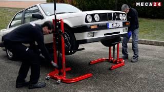 Colonne de levage mobile manuel :  Comment utiliser une colonne de levage pour voiture?