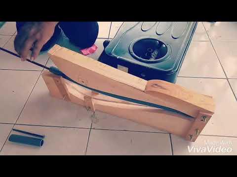 Cara praktis  dan mudah membuat busur pvc
