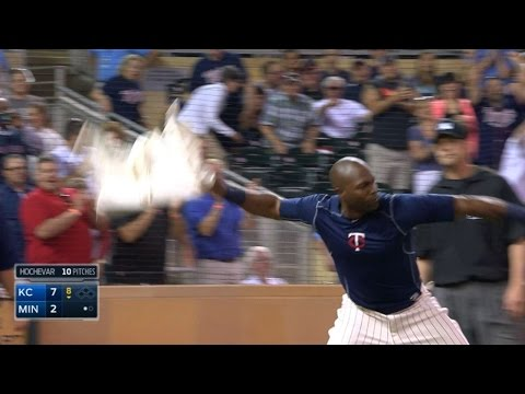 Hunter and Molitor get ejected