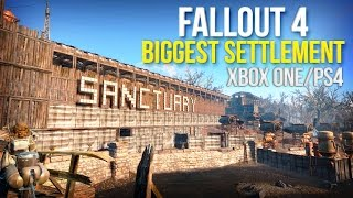 Fallout 4: Sanctuary Hills Mega Build