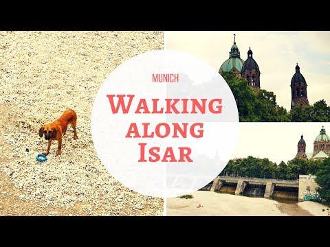 Munich - Walking along Isar - June 2017 - Travel Germany
