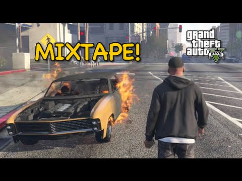 HE HEARD MY MIXTAPE! [GTA 5] [F#%KING AROUND!]