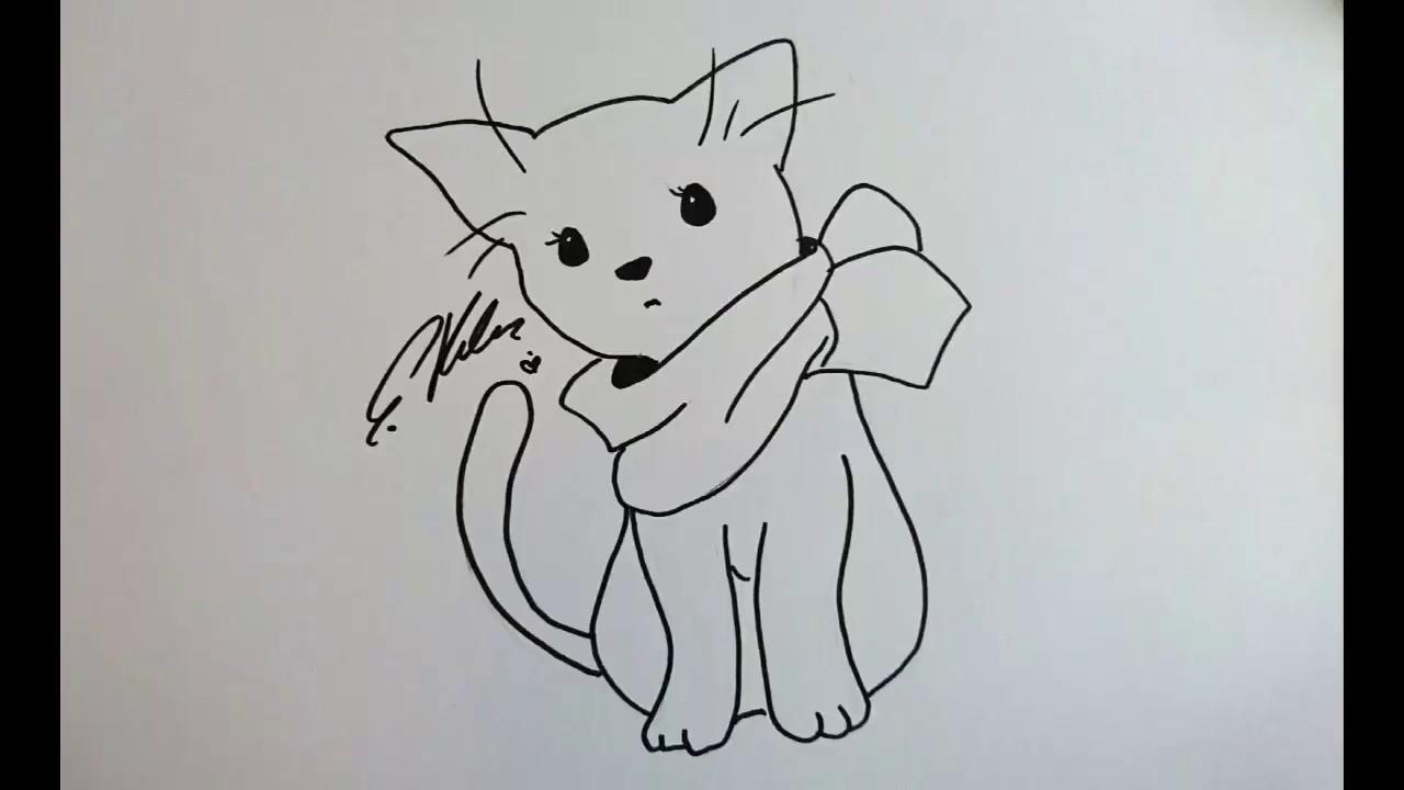 Anime Katze Zeichnen