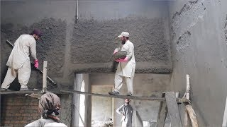 Internal wall Plastering works