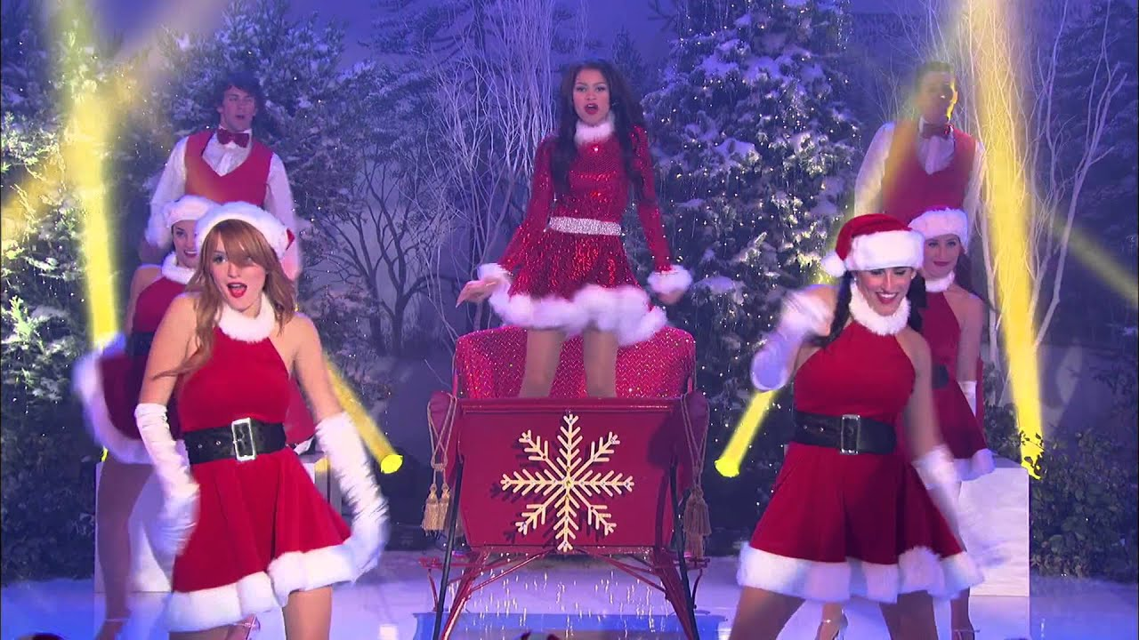 Bella Thorne and Zendaya - Shake Santa Shake - YouTube