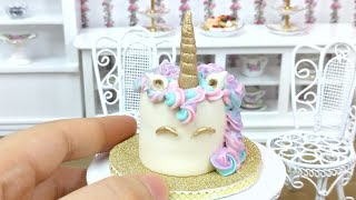 [FULL] Mini Unicorn Cake - minifood, mini cake