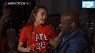 Shaq Makes an Asian Girl Cry in Atlanta | LIVE 5-20-15