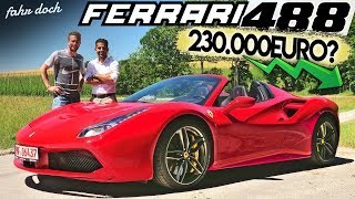 Ferrari 488 Spider CHECK mit Hamid Mossadegh | Gebrauchtwagencheck | Fahr doch