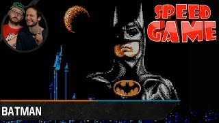 Speed Game - Batman - The Video Game - Fini en 09min21