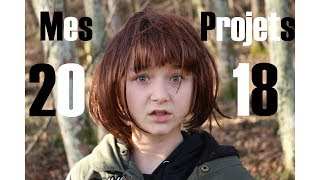 Mes Projets 2018 (version second degrès) // Satine Walle