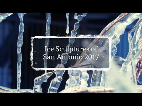 (Rare) Ice Sculptures of San Antonio 2017