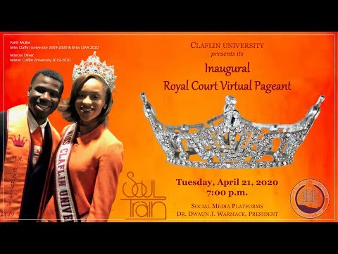 Inaugural Claflin University Royal Court & Virtual Pageant