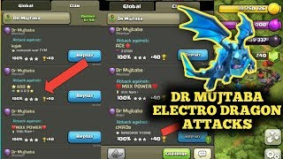 DR MUJTABA THE MASTER OF ELECTRO DRAGONS ♥️ CLASH OF CLANS