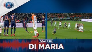 GOAL CAM - AMAZING FREE KICK BY DI MARIA vs MONTPELLIER