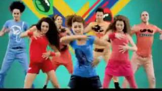 Repeat youtube video K'naan ft. Nancy Ajram - Waving Flag [Official Video - FIFA World CUP 2010]