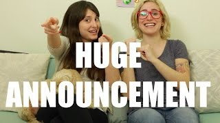 Do you have a huge announcement