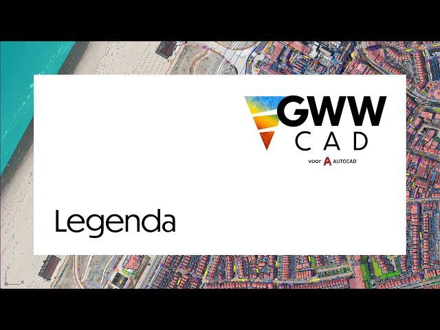 GWW-CAD: Legenda
