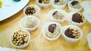 Рецепт. Домашние конфеты с натуральным марципаном. С.Пудовъ. Все для выпечки!