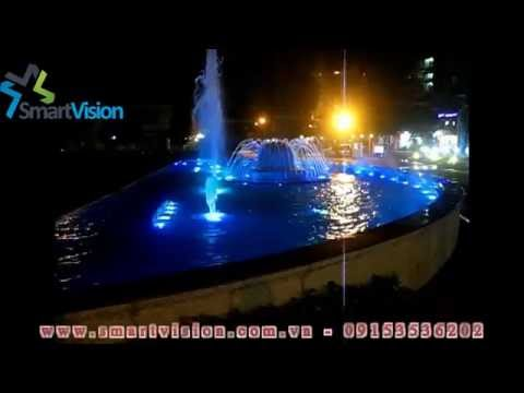 Smart Vision - Đài phun nước nghệ thuật khách sạn 5 sao Tân Sơn Nhất