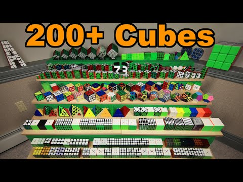 [2020] My Rubik's Cube Collection | 200+ Cubes