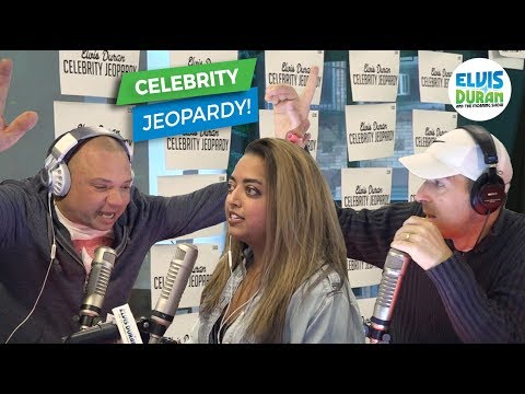 Celebrity Jeopardy - Greg T, Gandhi, & Froggy | Elvis Duran Exclusive