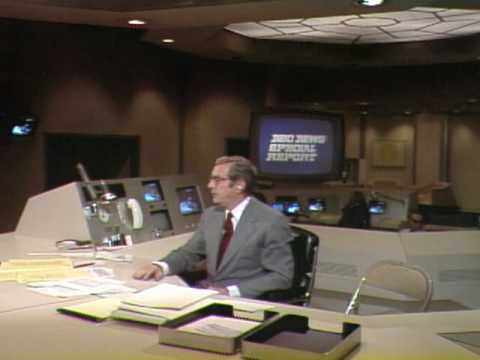 1974 - NBC News Special Report with John Chancellor BLOOPER