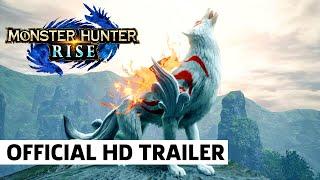 Monster Hunter Rise X Okami Trailer