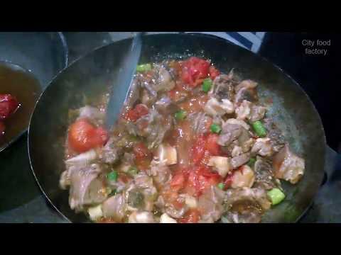 Chicken Karahi Famous in Khyber Charsi Tikka University Road Peshawar
