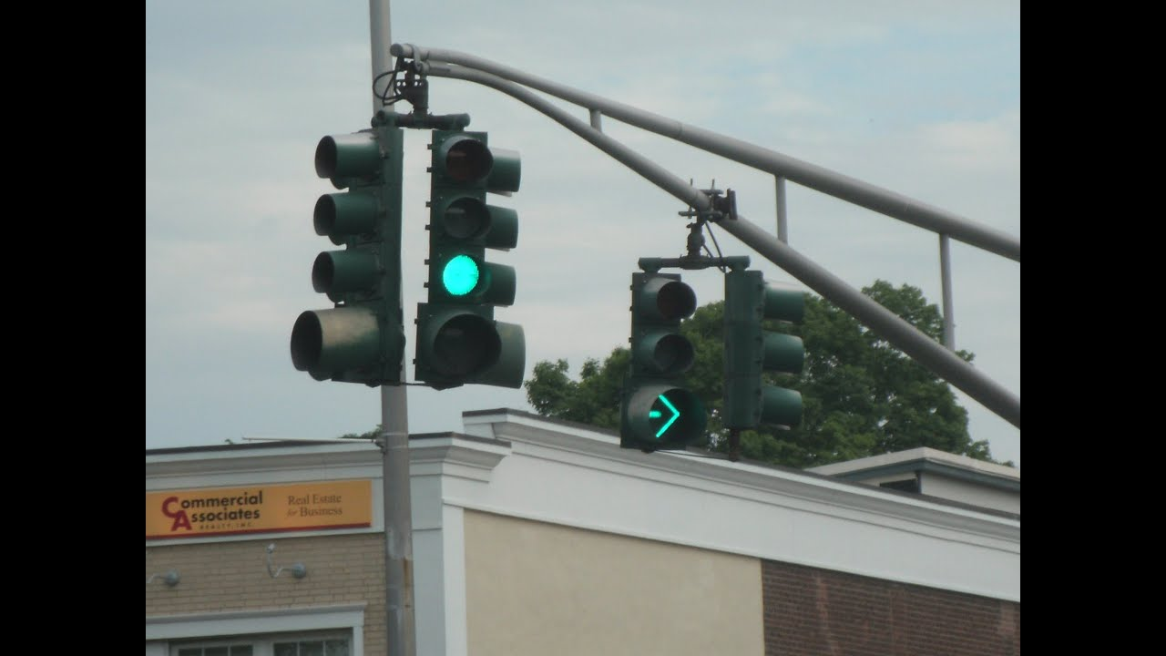 The Traffic Signals of Kingston New York - YouTube for Real Traffic Lights  67qdu