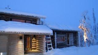 Kelokoto - роскошные дома в Финляндии на курорте Рука