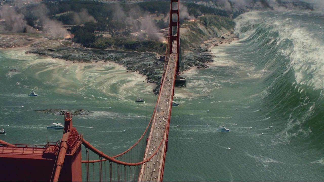Terremoto: A Falha de San Andreas (Cena da Tsunami)