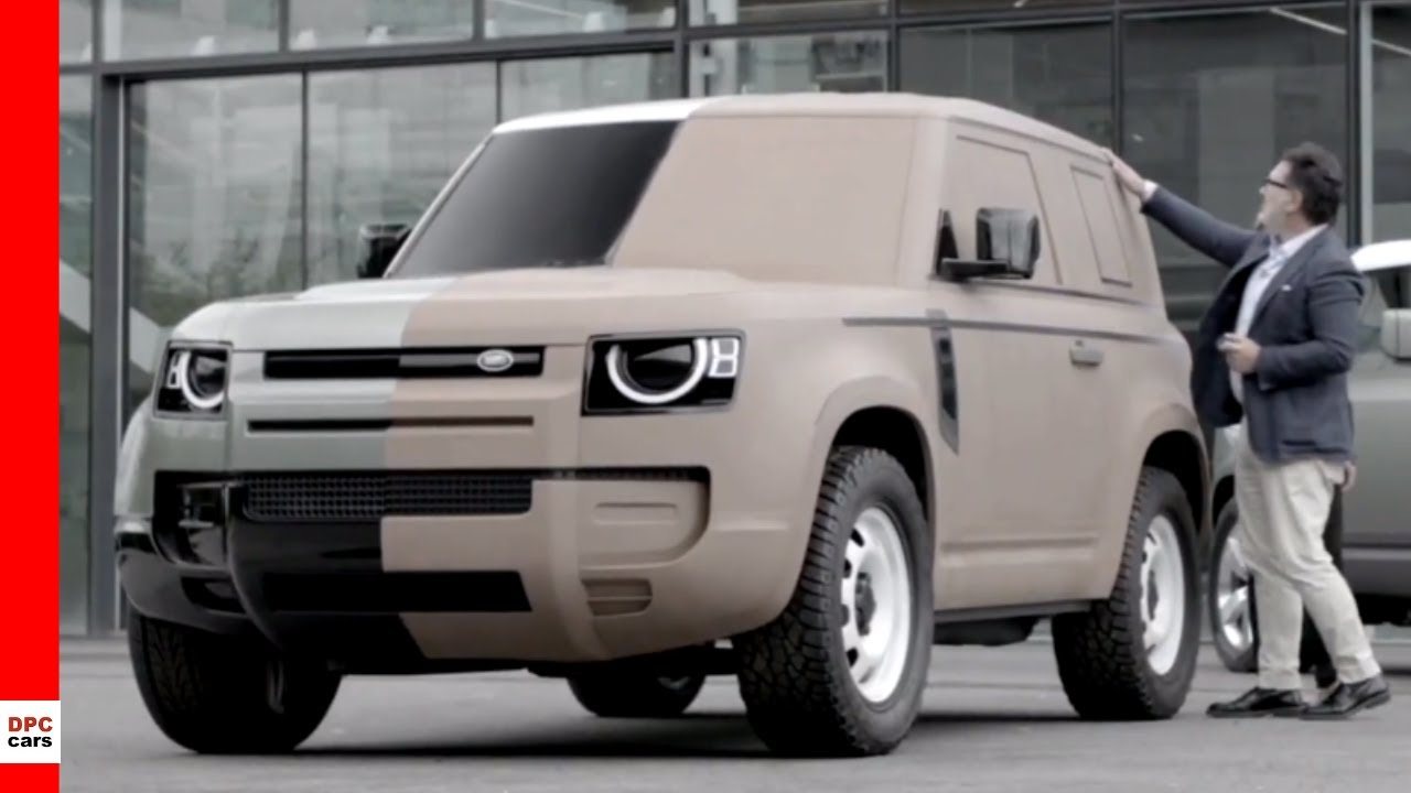 Jaguar Land Rover New Design Studio Youtube