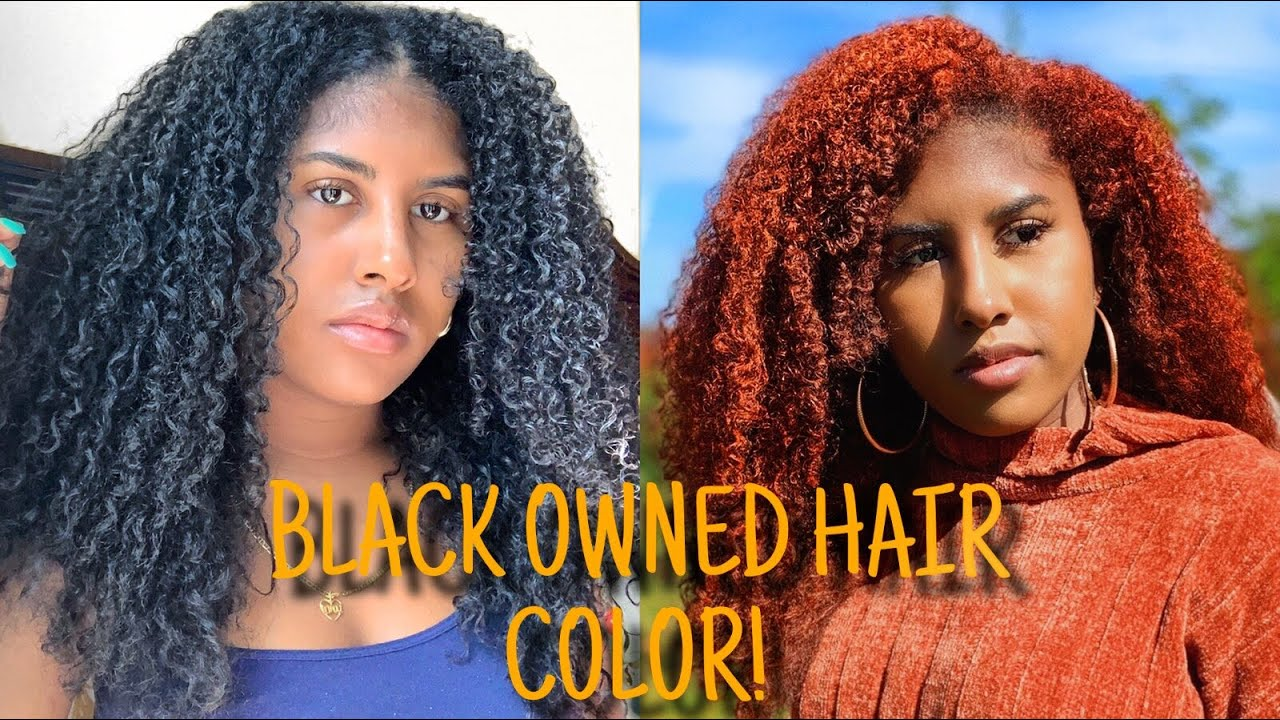 GINGER HAIR WAX COLOR... BLACK OWNED