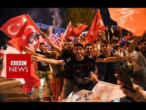 Turkey election: Erdogan thanks voters for 'love' - BBC News