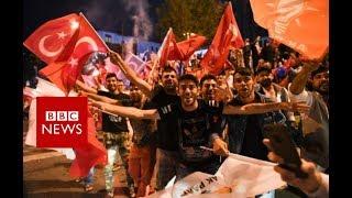 Turkey election: Erdogan thanks voters for