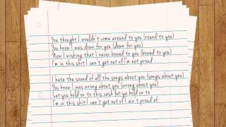 blackbear 4u acoustic version lyrics