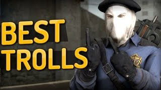CS:GO - Best Troll Moments ft. Olof, Shroud, GeT_RiGhT & more!