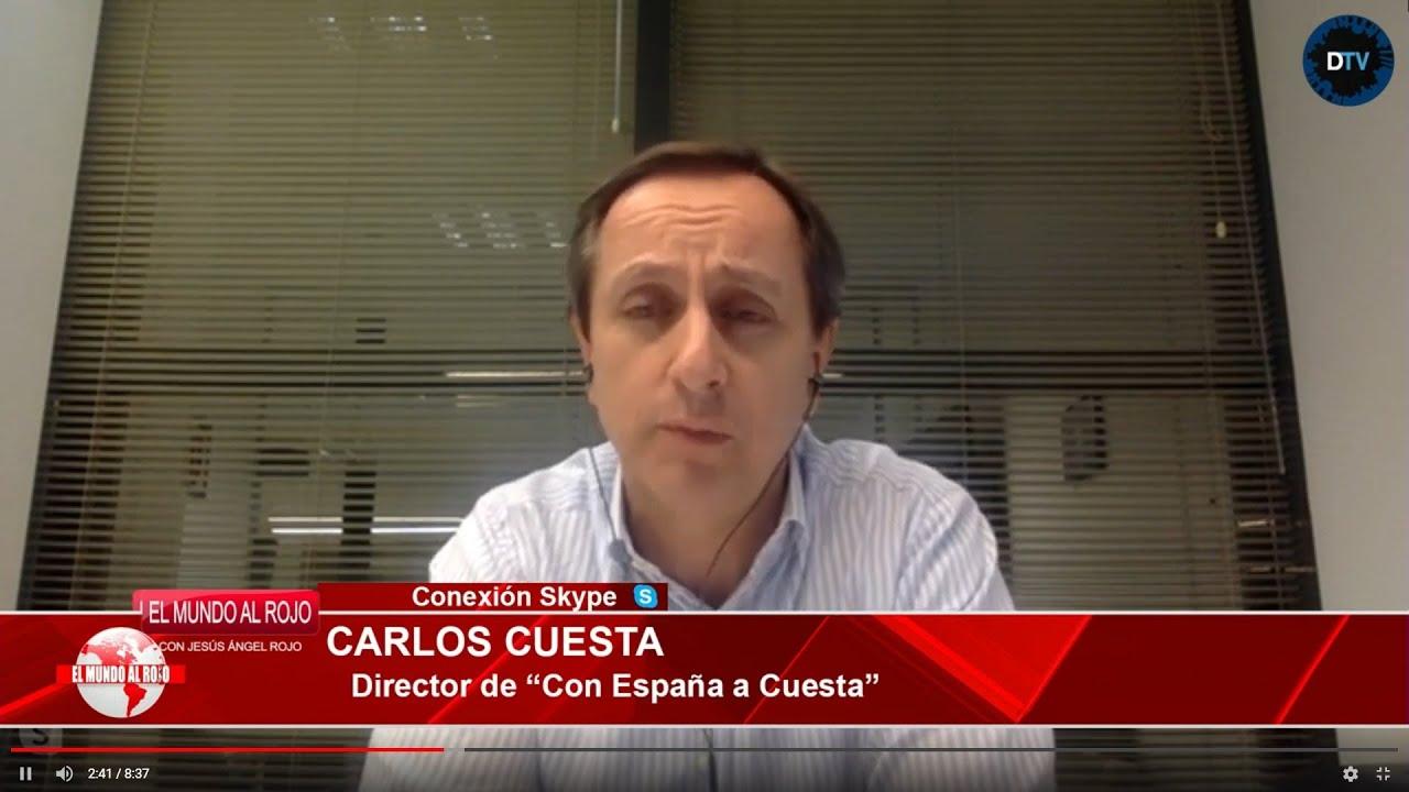 CARLOS CUESTA A RISTO MEJIDE: SI DEFIENDES LA VERDAD, DENUNCIA LA CENSURA DE SÁNCHEZ Y SI NO CÁLLATE