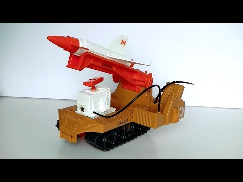 1988 R.P.V. (Remote Piloted Vehicle) G.I. Joe review