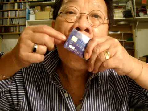 Scotland The Ve Played With Credit Card Used As Jews Harp By Tran Quang Hai
